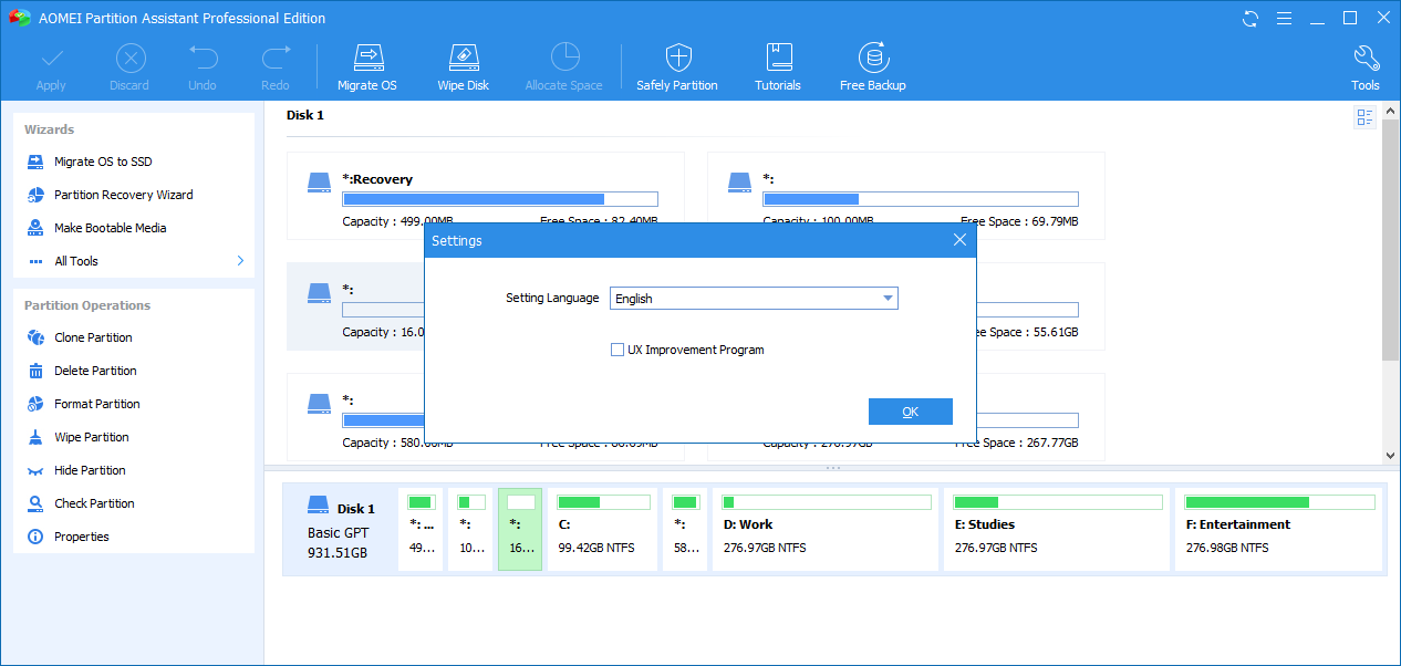 AOMEI Partition Assistant 8.6 License Code Free Download