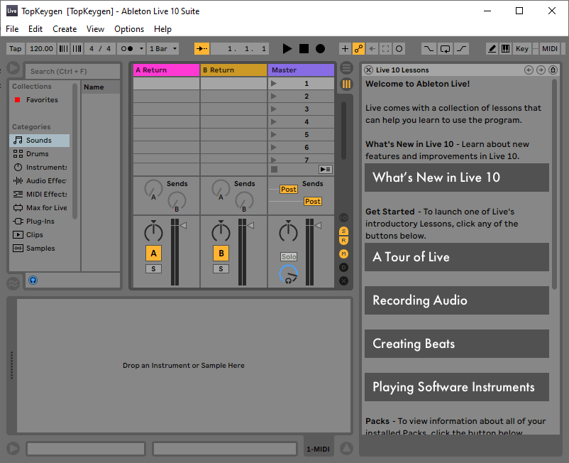 Ableton Live 10 Suite Keygen v10.1.6 + Crack Free Download