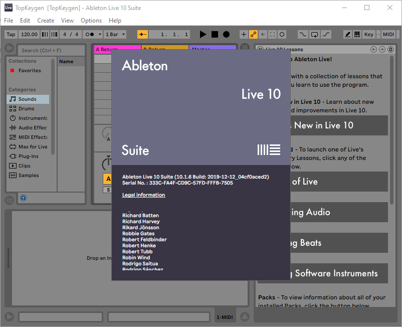 Ableton Live 10 Suite Serial Number Download
