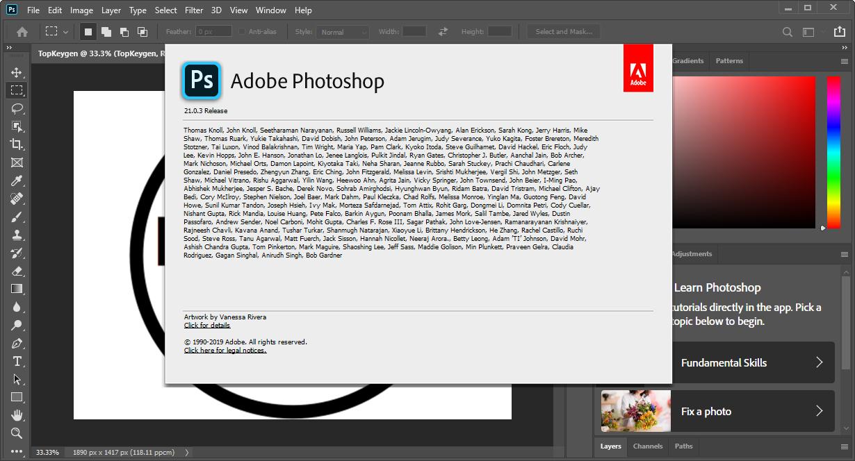 Adobe Photoshop 2020 License Key Free Download