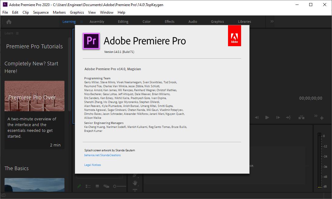 Adobe Premiere Pro 2020 Keygen Free Download