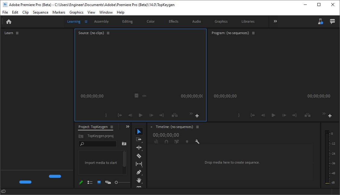 Adobe Premiere Pro 2020 v14.1.0.100 Beta Patch Free Download