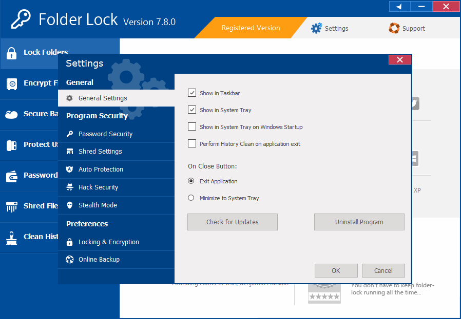 Folder Lock 7.8.0 Registration Key Free Download
