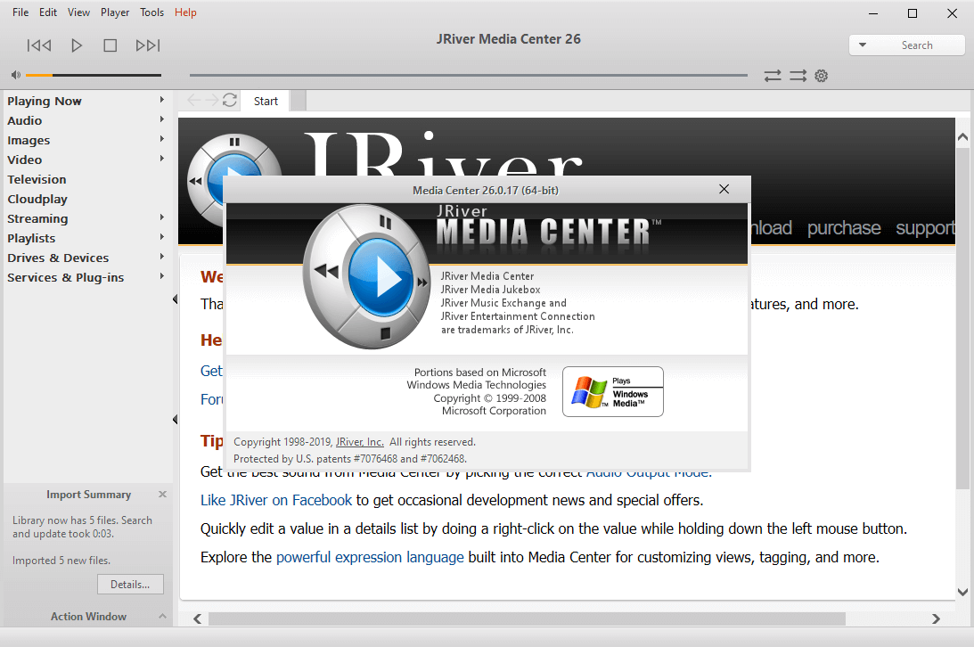 JRiver Media Center 26.0.17 Patch Free Download