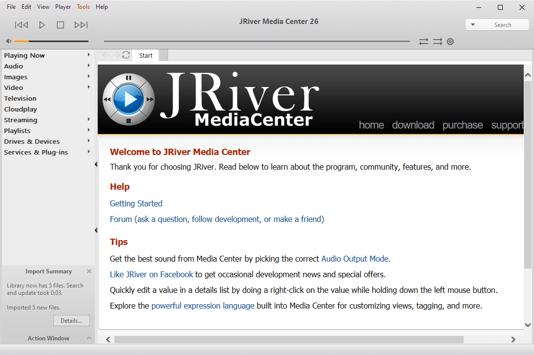 JRiver Media Center 26.0.17 Serial Key Free Download