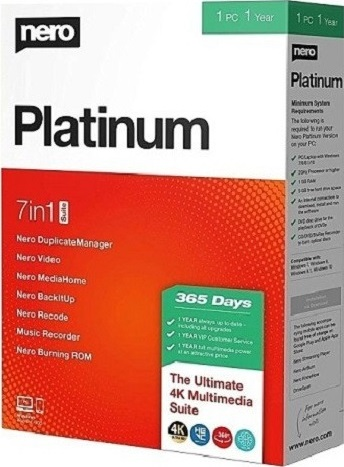 Nero Platinum 2020 Suite Crack & Content Packs Latest Free Download
