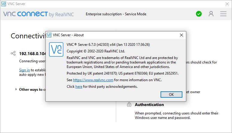 VNC Connect Enterprise 6.7.0 Serial Key Free Download