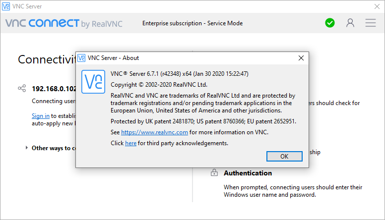 VNC Connect Enterprise 6.7.1 Crack & License Key {2020} Free Download