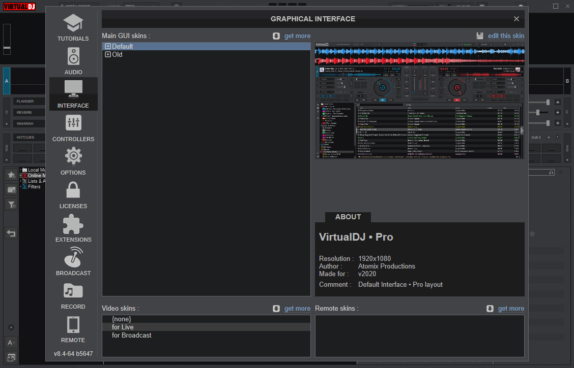VirtualDJ 2020 Pro Infinity v8.4.5647 Crack {Updated} Free Download