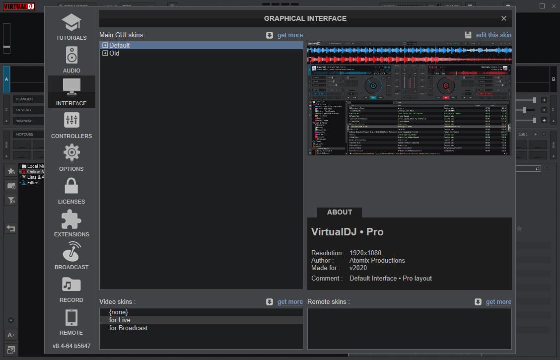 VirtualDJ 2020 Pro Infinity v8.4.5647 Crack {Updated} Free Download