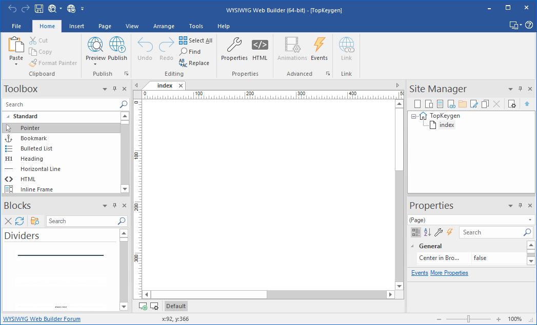 WYSIWYG Web Builder 15.2.3 Crack Free Download