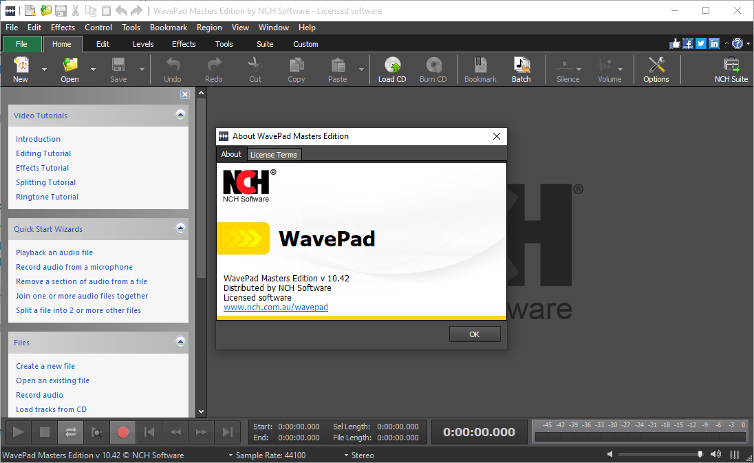Wavepad 10.42 Beta Registration Code & Patch {2020} Free Download