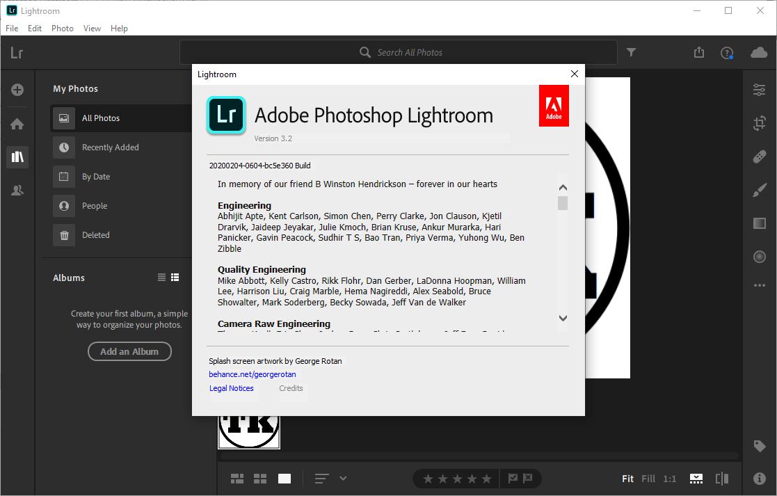 Adobe Photoshop Lightroom 2020 v3.2.0 Crack & License Key Free Download