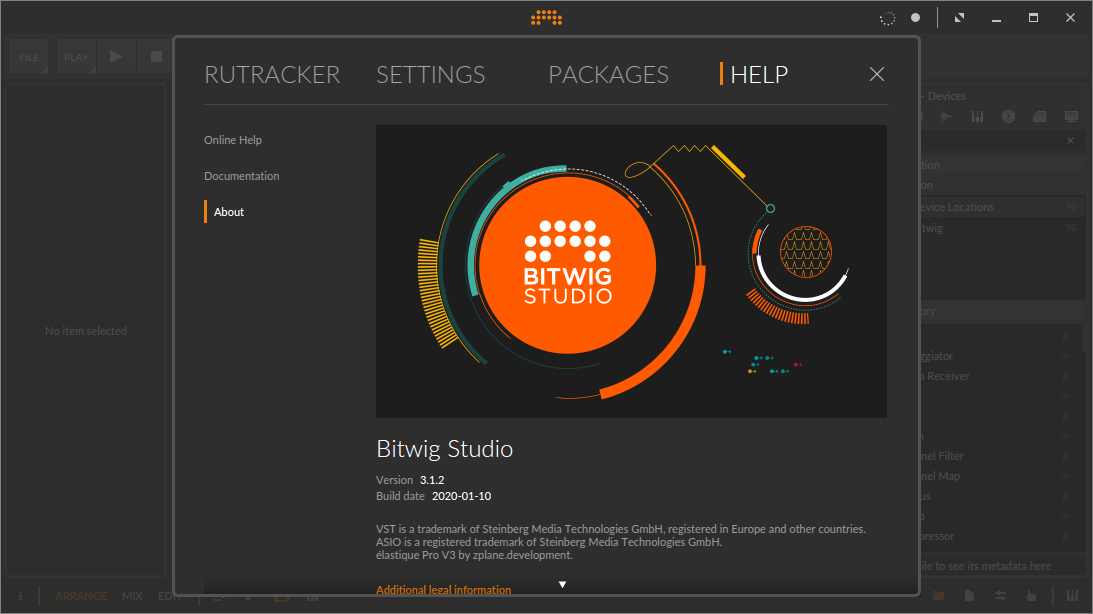 Bitwig Studio 3.1.2 Keygen Free Download