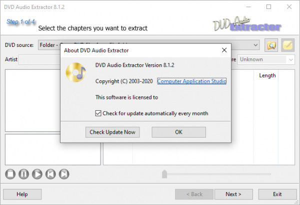 DVD Audio Extractor 8.1.2 Patch & License Key {2020} Free Download