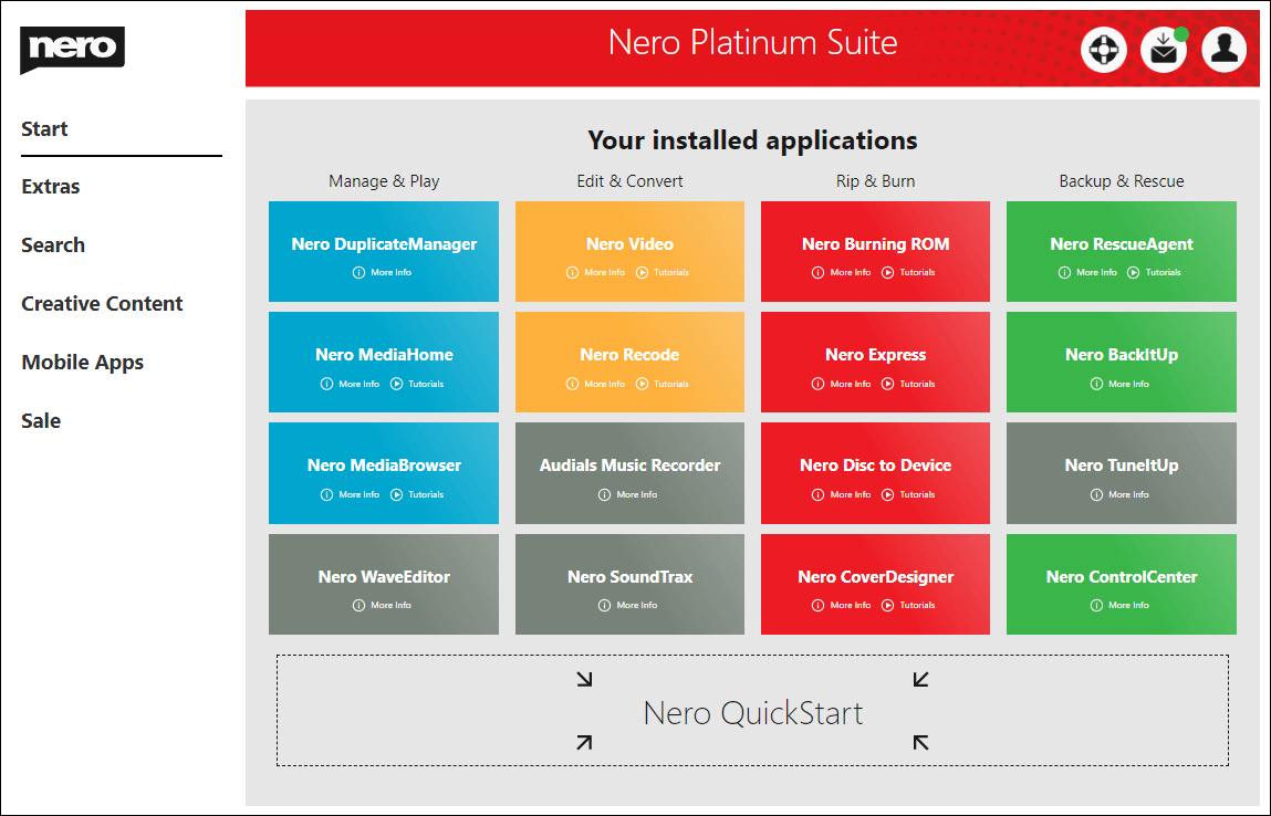 Nero Platinum 2020 Suite v22.0.02400 License Key Free Download