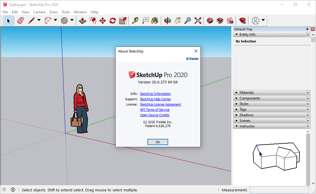 SketchUp Pro 2020 Crack v20.0.373 & License Key Free Download