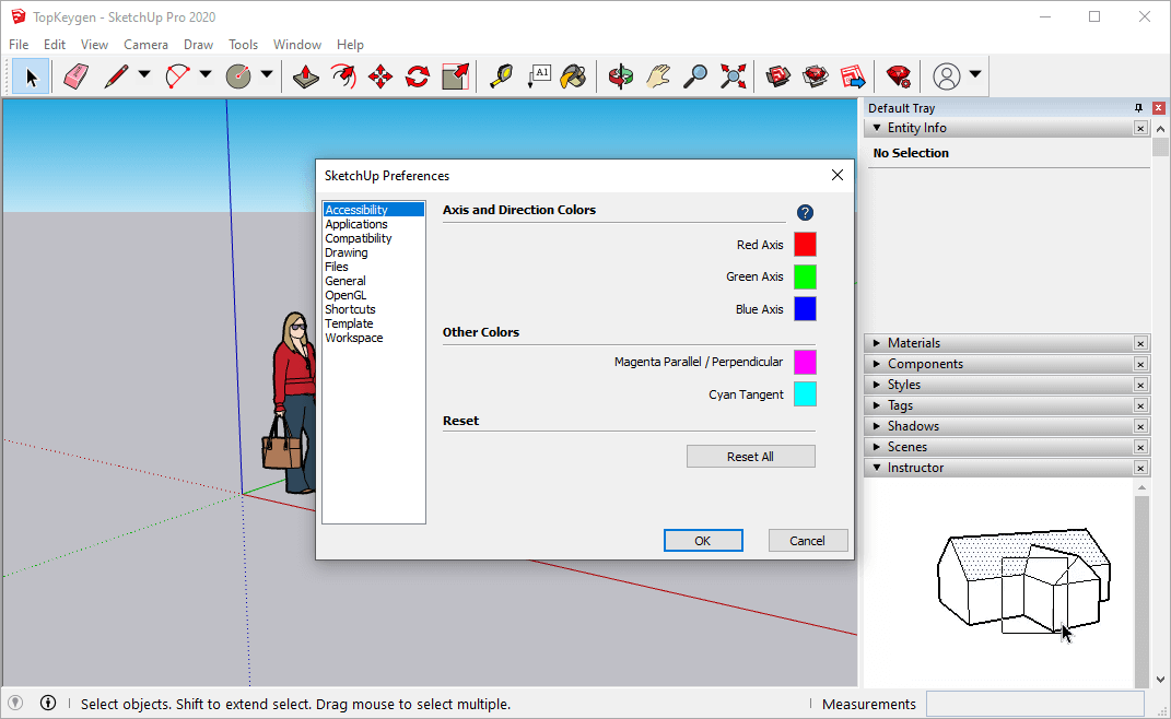 SketchUp Pro 2020 v20.0.373 Serial Key Free Download