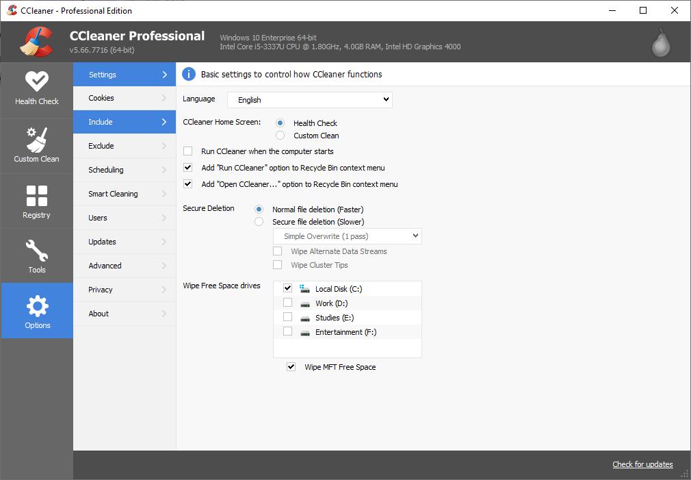 CCleaner Pro 5.66.7716 Keygen {2020} Free Download