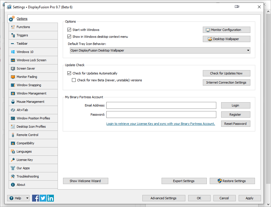 DisplayFusion Pro 9.7 Beta 6 Keygen {2020} Free Download