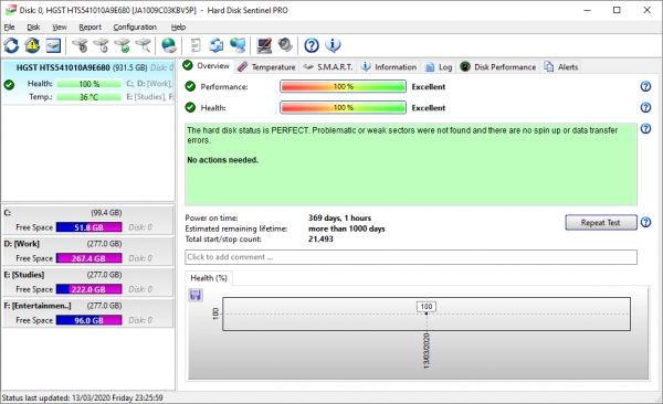 Hard Disk Sentinel Pro Full Crack & License Key {Tested} Free Download