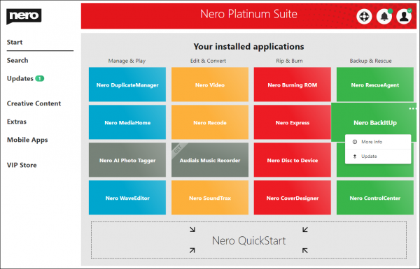 Nero Platinum Suite Patch & License Key Free Download