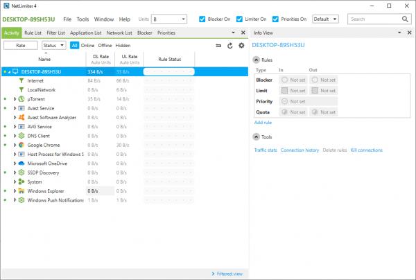NetLimiter Pro 4.0.67.0 Enterprise Patch {2020} Free Download