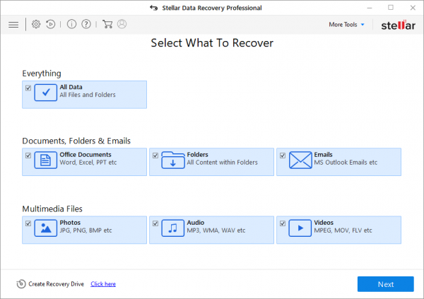 Stellar Data Recovery 9.0.0.4 Patch {2020} Free Download