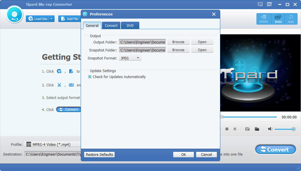 Tipard Blu-ray Converter 9.2.30 Serial Key {2020} Free Download