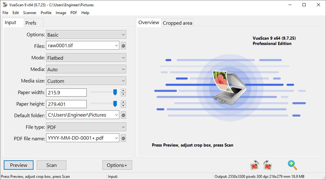 VueScan Pro 9.7.25 Crack {2020} Free Download