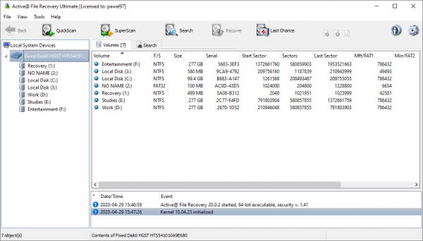 Active@ File Recovery Full Patch & Serial Key {Tested} Free Download