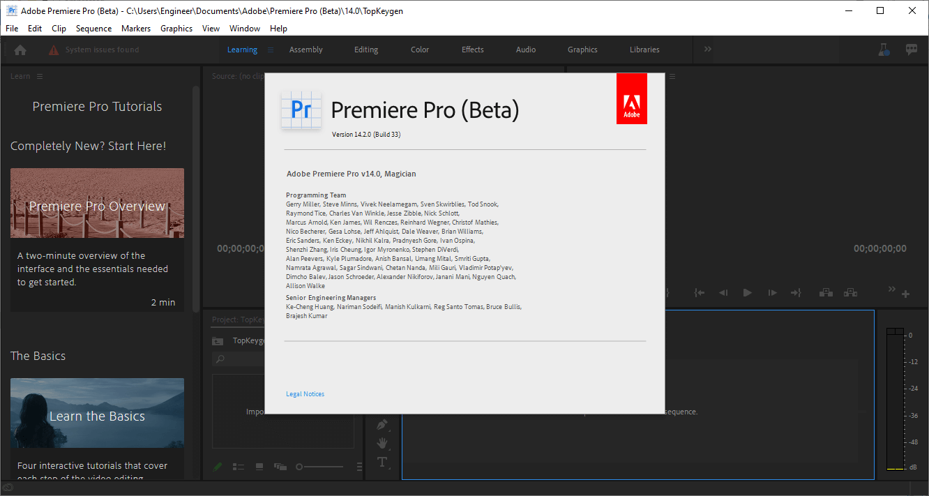 Adobe Premiere Pro 2020 v14.2.0.33 Crack & License Key Free Download