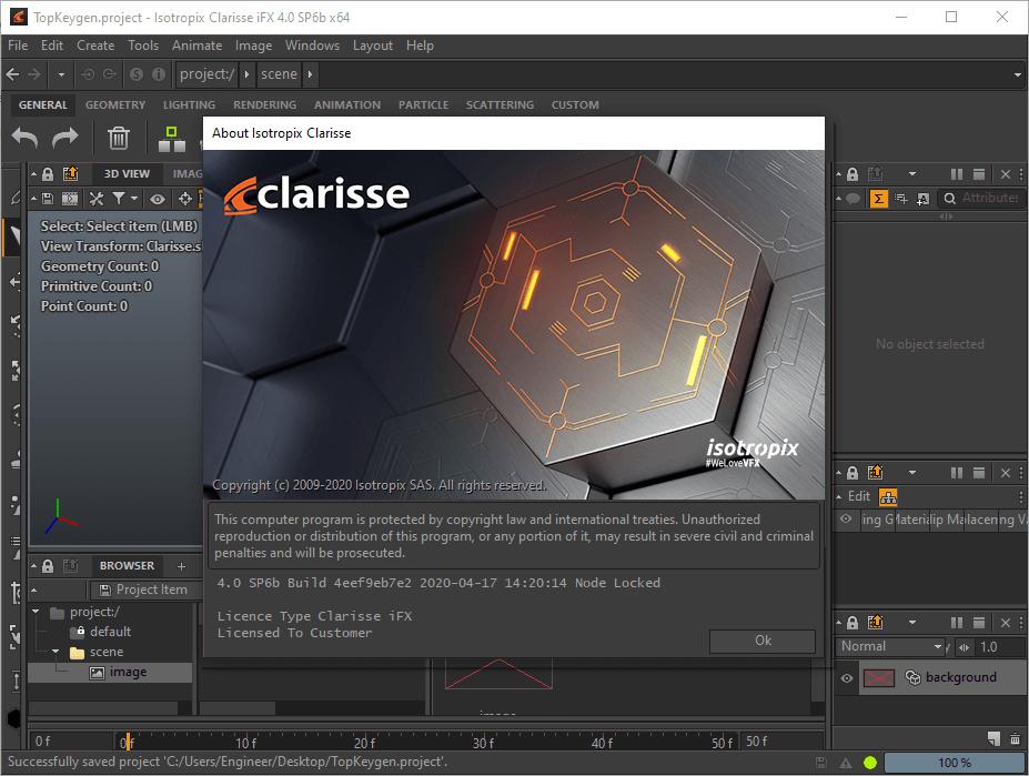 Isotropix Clarisse iFX 4.0 SP6b Crack & License Key {2020} Free Download