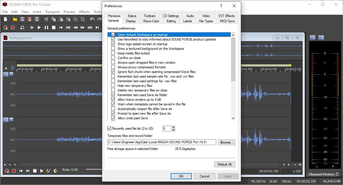 MAGIX SOUND FORGE Pro Studio 14.0.0.45 Keygen {2020} Free Download