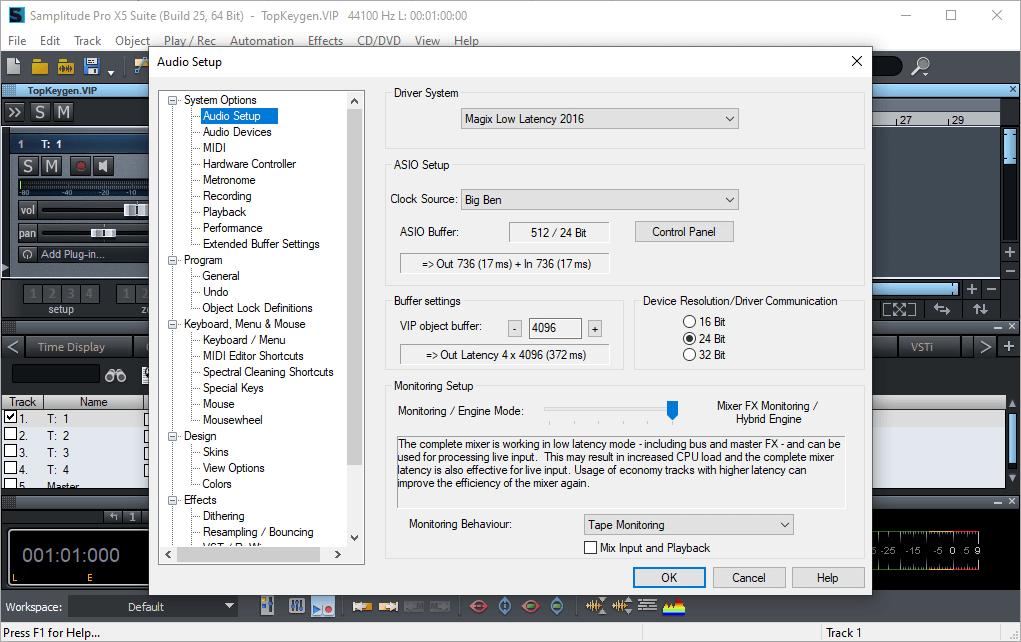 MAGIX Samplitude Pro X5 Suite 16.0.0.25 Serial Key {2020} Free Download