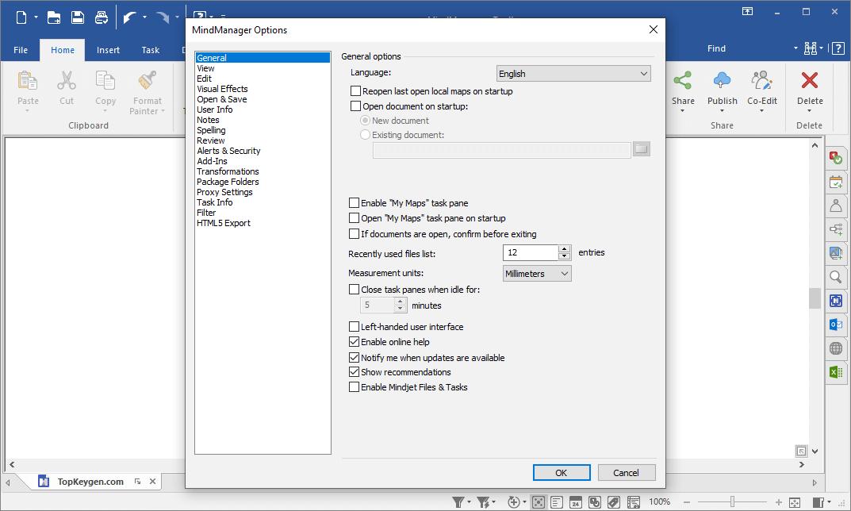 Mindjet MindManager 2020 v20.1.236 License Key Free Download