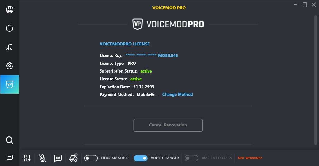 Voicemod Pro 1.2.6.8 License Key & Patch {2020} Free Download