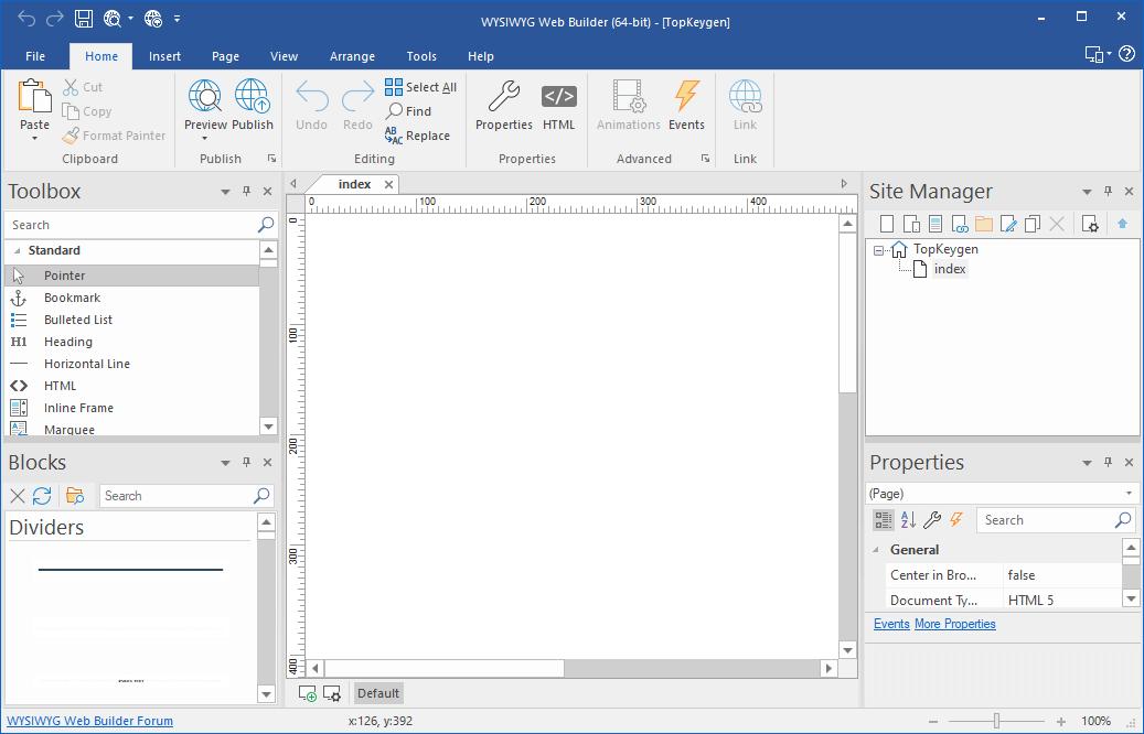 WYSIWYG Web Builder 15.4.1 Crack {2020} Free Download