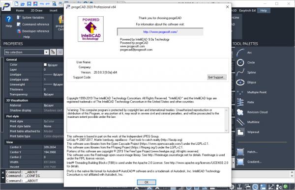 progeCAD 2020 Professional 20.0.8.3 Crack & Keygen Free Download