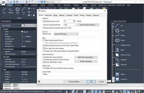 progeCAD 2020 Professional 20.0.8.3 License Key Free Download