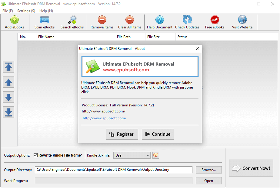 Epubsoft Ultimate DRM Removal 14.7.2 Crack & Serial Key {2020} Download