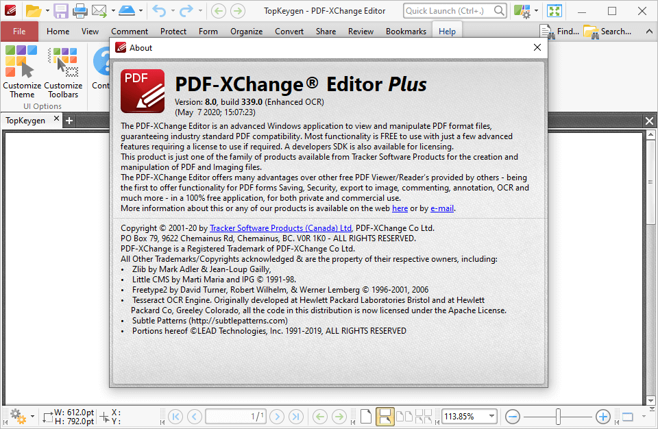 PDF-XChange Pro 8.0.339.0 Crack & Serial Key {2020} Free Download