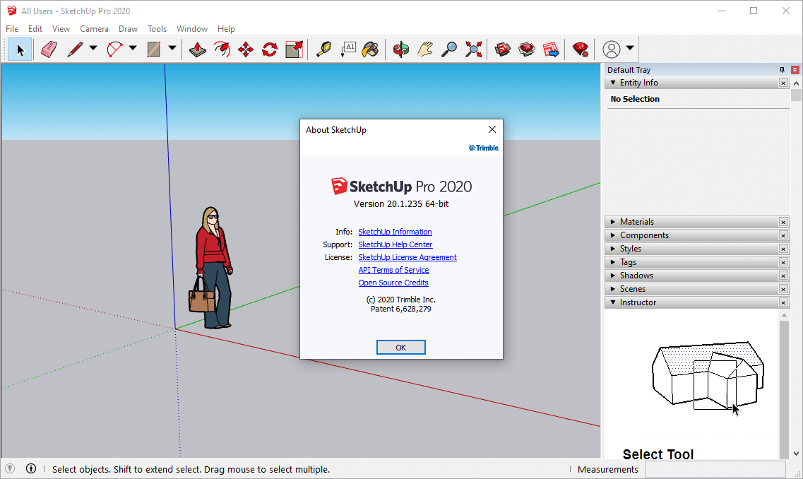 SketchUp Pro 2020 Crack v20.1.235 & License Key Free Download