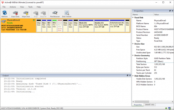 Active@ KillDisk Ultimate Full Patch & Serial Key {Tested} Free Download