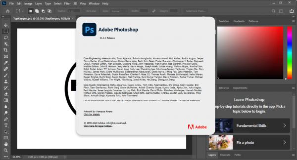 Adobe Photoshop 2020 Crack v21.2.1.265 + Serial Key Free Download