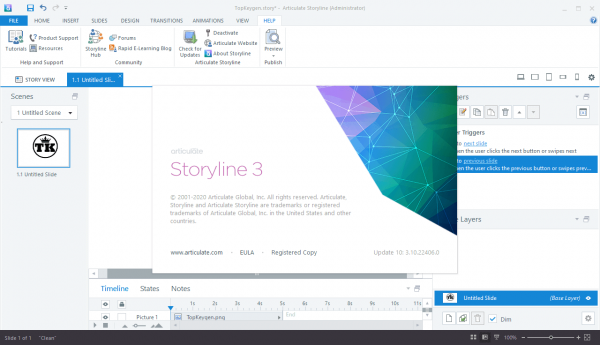 Articulate Storyline 3.10.22406.0 Crack & License Key {2020} Free Download