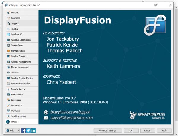 DisplayFusion Pro 9.7 Crack & License Key {2020} Free Download