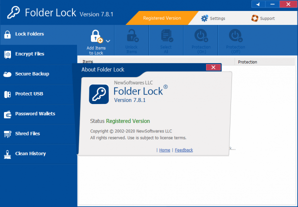 Folder Lock 7.8.1 Keygen & Crack {Updated} Free Download