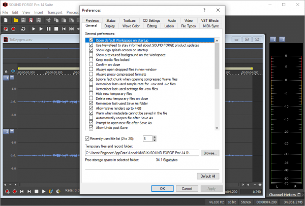 MAGIX SOUND FORGE Pro Suite 14.0.0.65 Keygen {2020} Free Download