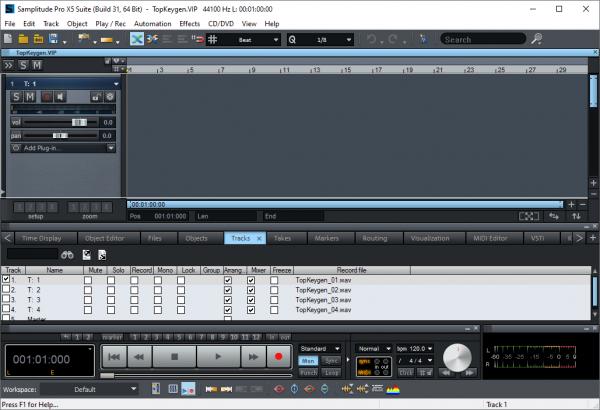 MAGIX Samplitude Pro X5 Suite 16.0.2.31 Patch {2020} Free Download